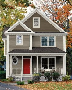 House Paint Colors on Pinterest