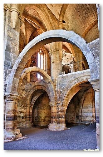 Interior da Igreja de Santa Clara a Velha #3 by VRfoto