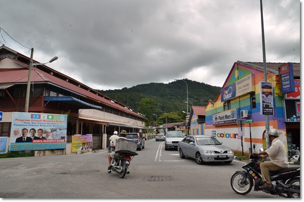 Balik Pulau Town Junction