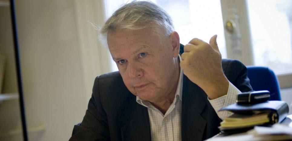 Eric Laurent à Paris, en octobre 2007. (POUZET/SIPA)