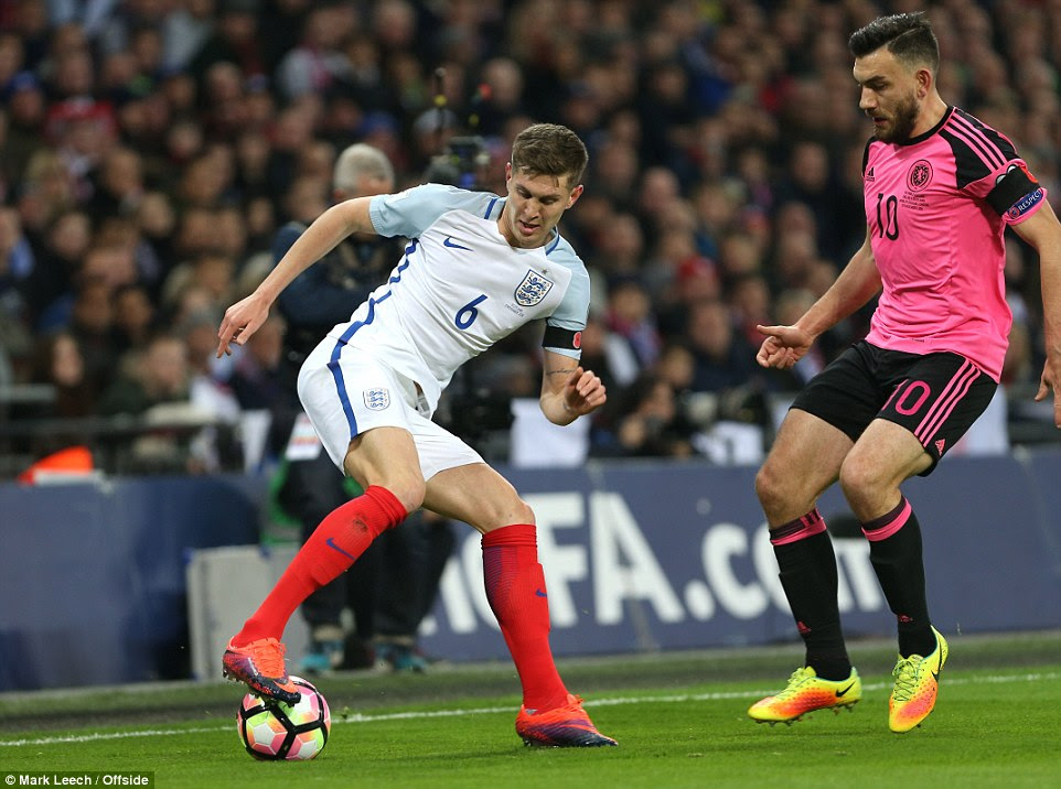 John Stones was determined to play his way out of trouble, but that approach did not always go entirely to plan
