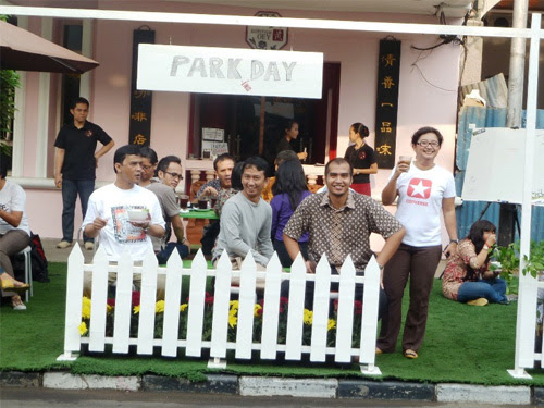 Park(ing) Day 2011 in Jakarta, Indonesia