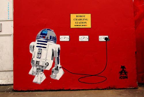 Robot Charging Station