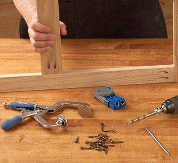 Nokw: Pocket hole workbench plans