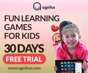 Agnitus.com - Fun Early Childhood Learning App - Click Here!