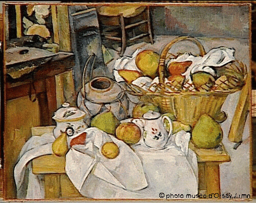La table de cuisine, Paul Cézanne, 1888-1890
