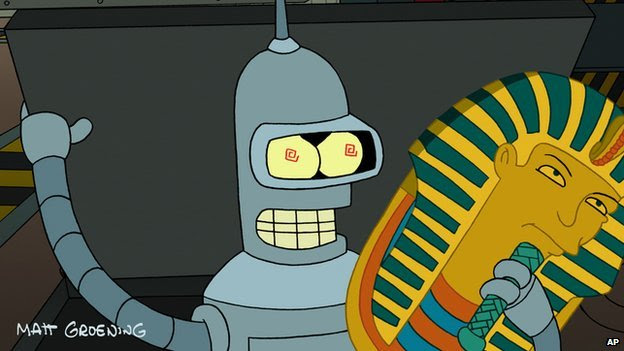 Bender from Futurama