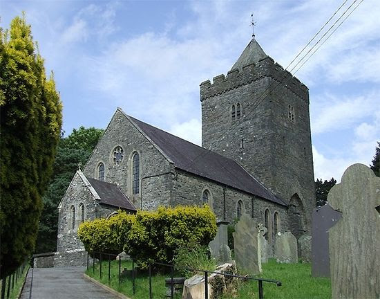 St. David's Church in Llandewi-Brefi, Ceredigion
