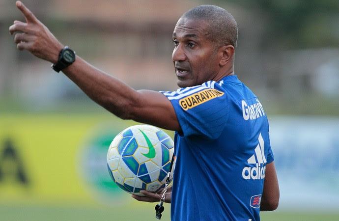 Cristóvão Borges, treino, Ninho do Urubu, Flamengo (Foto: Gilvan de Souza/ Fla Imagem)