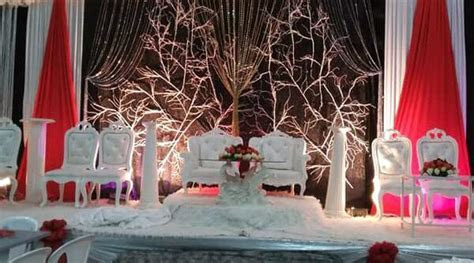Habesha Wedding Red and White Decor   Clipkulture