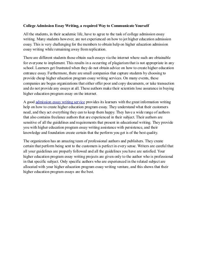 How to Write a College Application Essay - College Board Blog