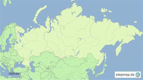 Russland von djennya   Landkarte für Asien
