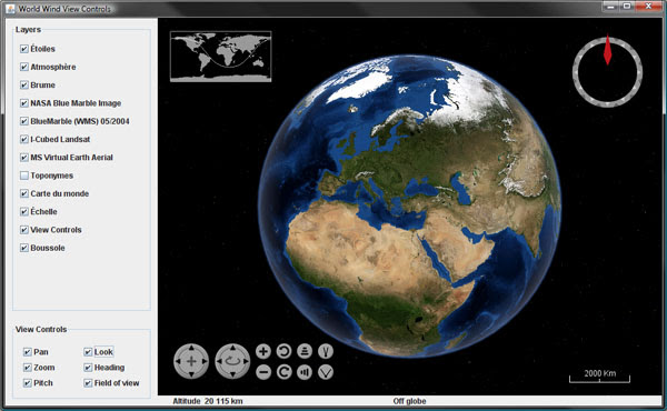 NASA World Wind Java SDK 0.6