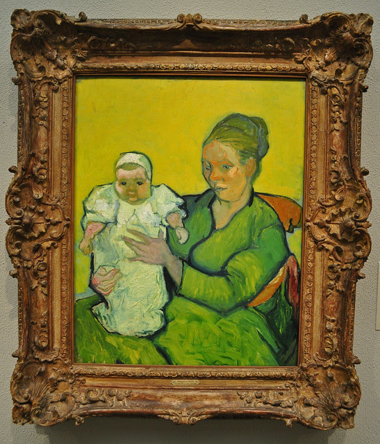 Mother Roulin with Her Baby - Vincent van Gogh