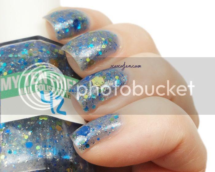 xoxoJen's swatch of My Ten Friends 42