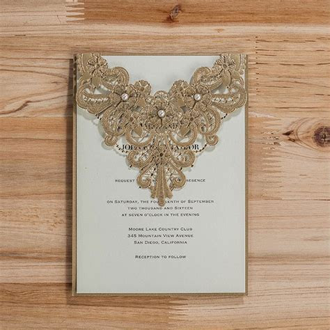 Wedding invitation card 2016, Luxury Wedding invitations