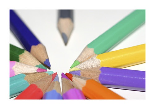 left out pencils