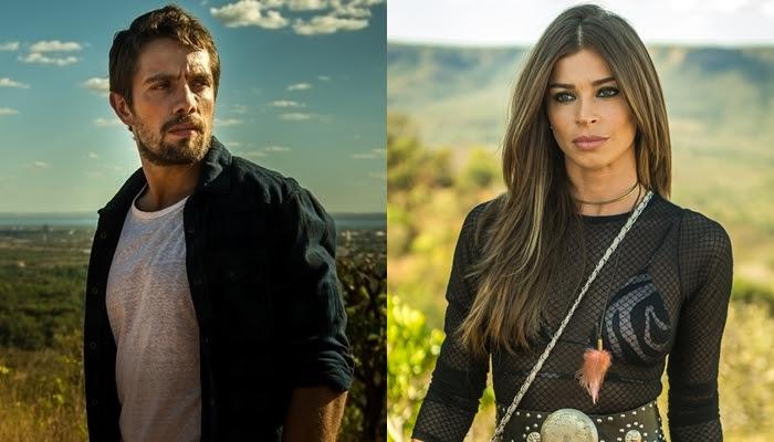 "Rafael Cardoso (Renato) e Grazi Massafera (Lívia) em ""Outro Lado do Paraíso"" (Foto: Globo/Raquel Cunha)"