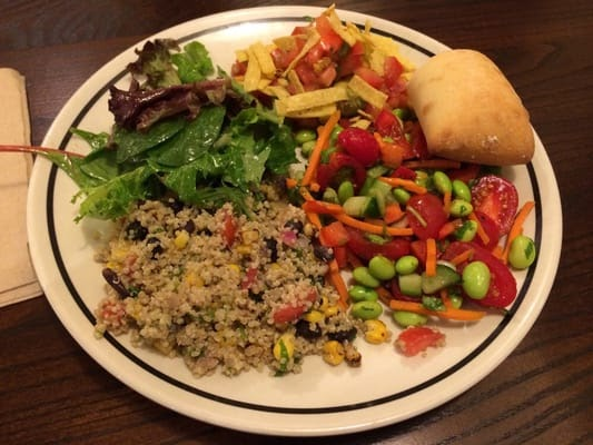 Bakery Chain Restaurant Recipes Trio Specialty Salads