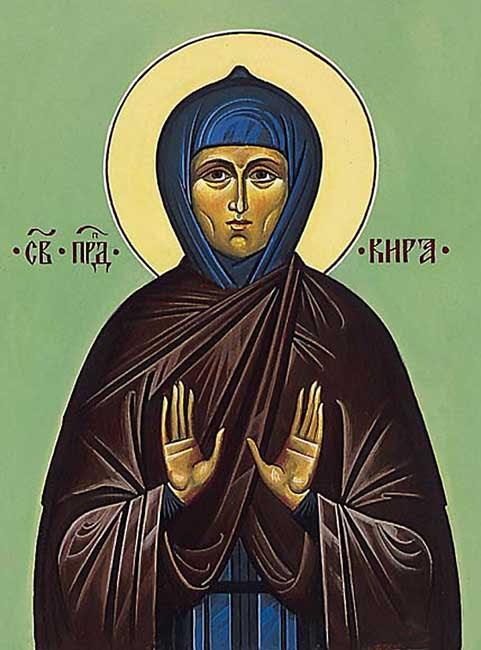 IMG ST. KYRA, Cyra, Ascetic