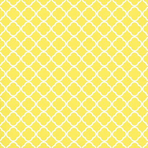 6 lemon QUATREFOIL melstampz