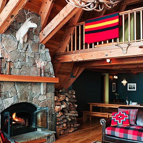 Cozy Tahoe Cabin Decorating Ideas