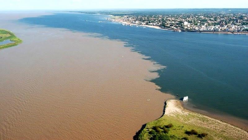 9 фантастических слияний рек