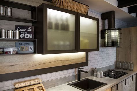 kitchen design  lofts  urban ideas  snaidero
