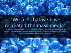 recreating the mass media