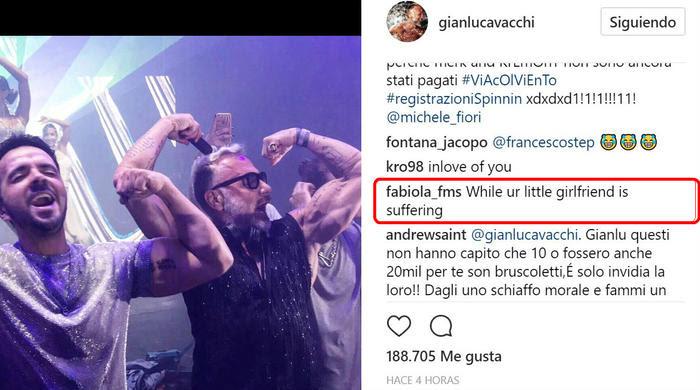 Gianluca Vacchi con Luis Fonsi