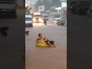 Tempestade surpreende população do Médio Mearim e causa prejuízos.