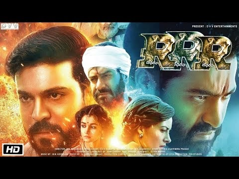 RRR | Full Movie HD Facts 4K | NTR | Ram Charan | Ajay D | Alia Bhatt | Olivia Morris | SS Rajamouli