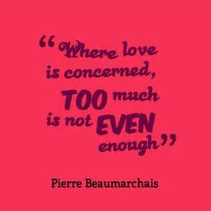 Love Is Not Enough Quotes