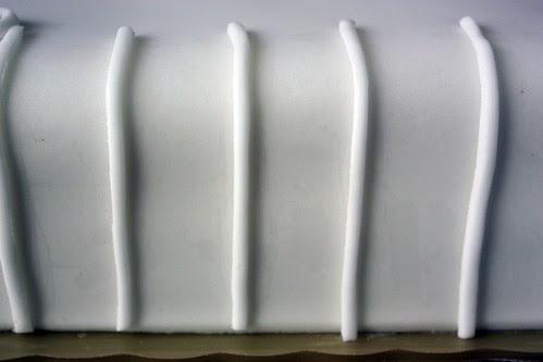 fondant stripes