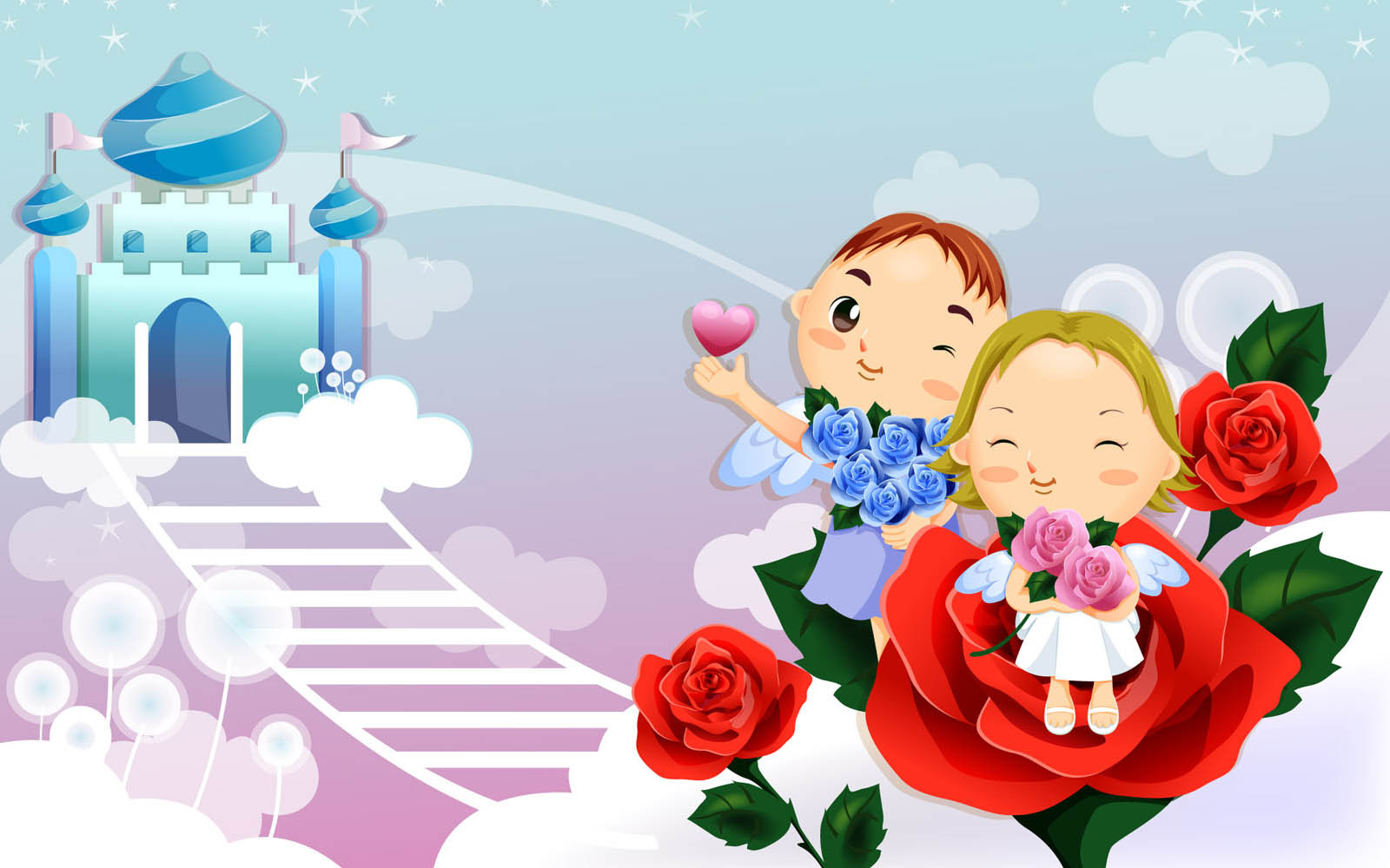 770 Free Download Gambar Kartun Romantis HD