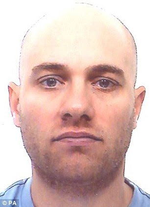 Wanted: Graham Hawrysh, 37, is suspected of helping to set up and manage a number of boiler rooms based in Spain