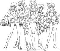 Disegni Delle Sailor Moon Da Colorare