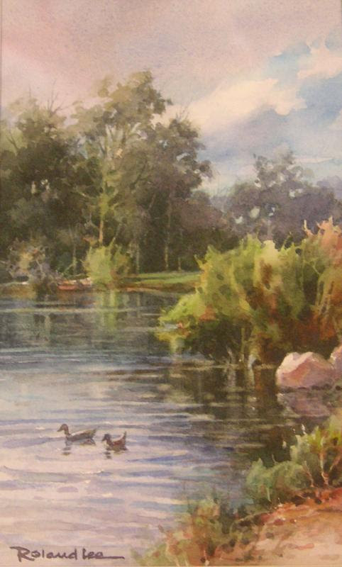 The Pond Roland Lee