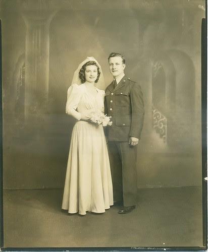 February 21, 1942 - Mr & Mrs