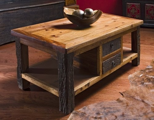 Coffee Tables Low Prices Reclaimed Wood Lodge Cabin