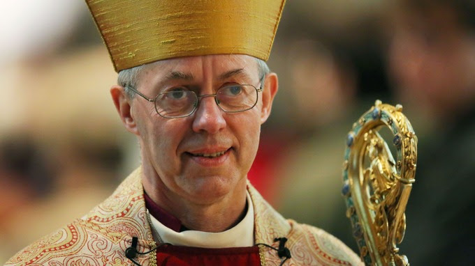 The Most Rev Justin Welby.
