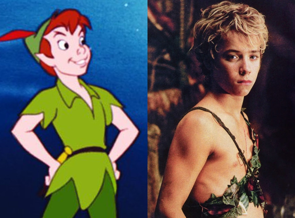 Peter Pan, Animated Disney vs. Live Action Disney