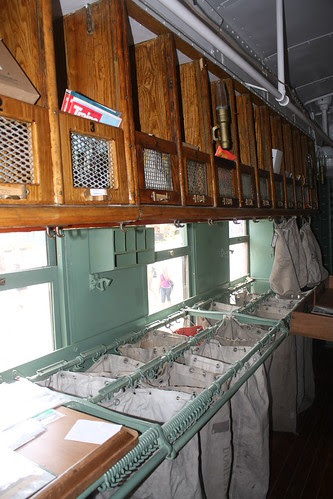 Restored mailcar - North Carolina Railway Museum