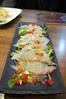 活け〆活魚の京野菜カルパッチョ風, つるはん, 東京国際フォーラム