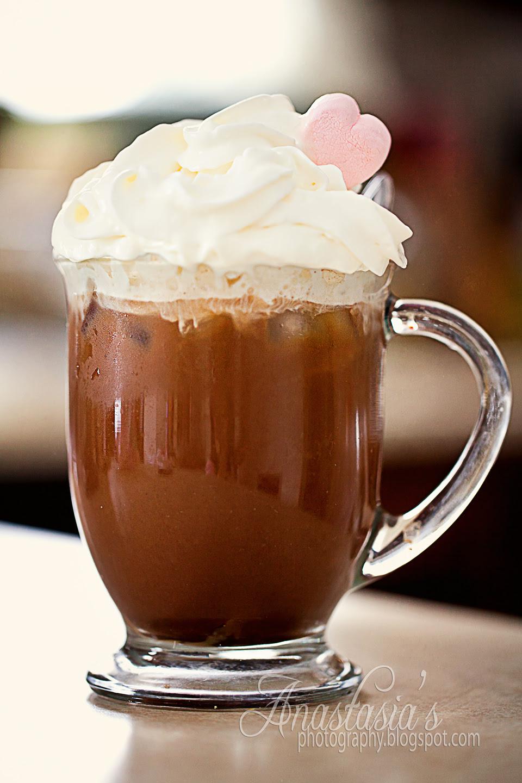 Good morning~! Mmm Iced Mocha latte