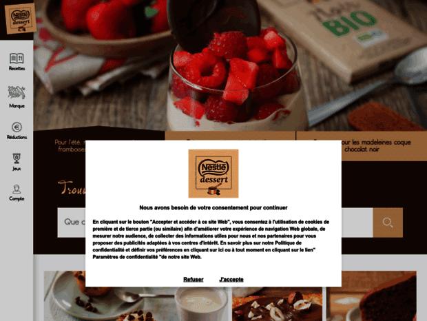 Bienvenue Au Latableadessertfr Page La Table à Dessert