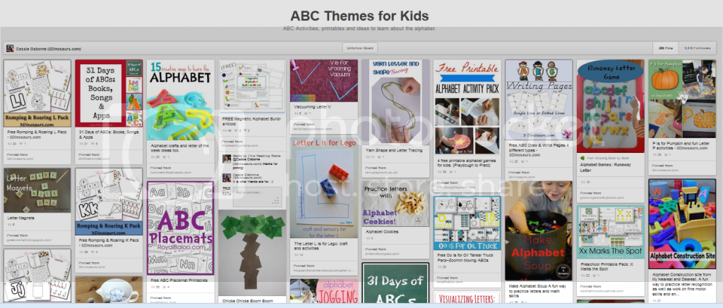 http://www.pinterest.com/cassie_osborne/abc-themes-for-kids/