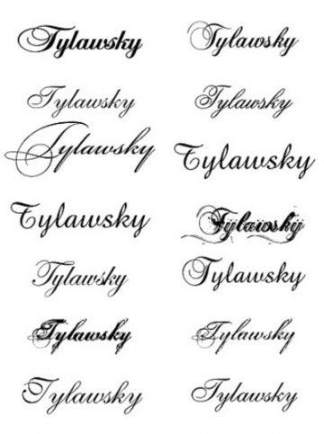 Tipos De Letras Tatuaje