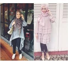 Hijab Style: Gaya Hijab Simple dan Modis Ayu Aryuli