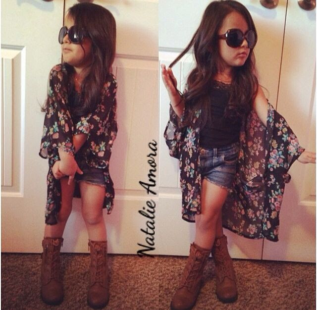 Kids fashion fashion kid spring outfit summer outfit ootd kimono tillys tillyskids tillysgirls Instagram fashion style kids style little girl outfit